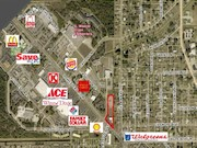 LEHIGH ACRES - 1.76 ACRE Commercial Corner Combined Parcel - For Sale