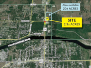 LABELLE - 2.3 Acres at Signalized Corner